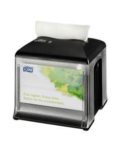 Tork Xpressnap Snack Tabletop Napkin Dispenser, Black