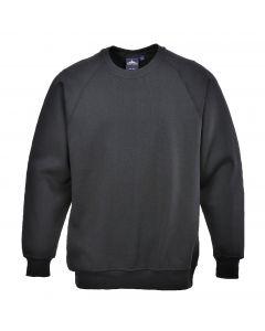 Roma Sweatshirt, Black 2XL