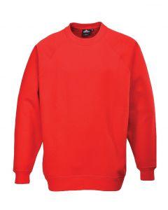 Roma Sweatshirt, Red M