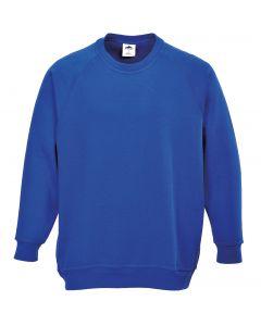 Roma Sweatshirt, Royal Blue 2XL