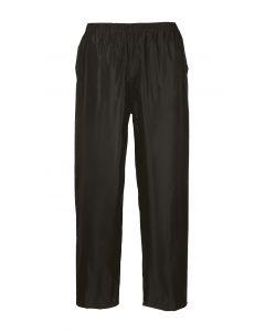 Classic Adult Rain Trousers, Black S