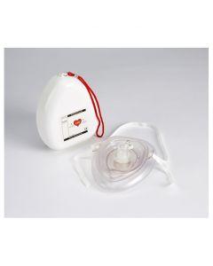 CPR Pocket Resuscitator in Shell Plastic Box