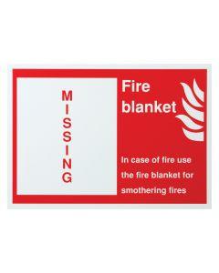 Fire Blanket Shadow Board (Board only)