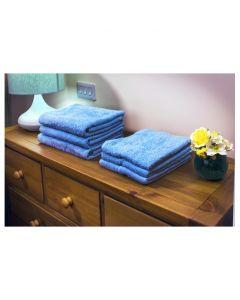 Evolution-Knit Bath Towel, 420gsm, 70cmx125cm - Blue