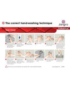 Hand Washing Task Card (A4)