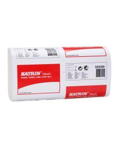 Katrin Classic Narrow One Stop Light Hand Towel, White 2 ply