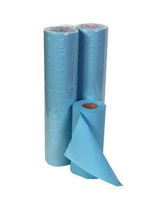 """20"""" Hygiene Roll 40M, Blue 2 ply"""