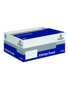 Kitchen Towel 50M, White 2 ply