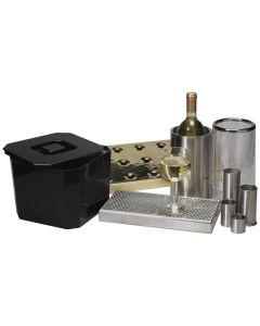 Wine Cooler, 2 piece Clear