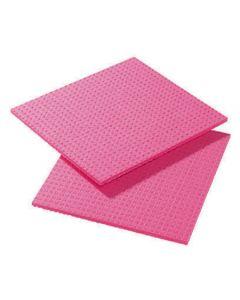 Cellulose Sponge Cloth, Red