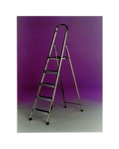 Light Weight Aluminium 5 tread Ladder