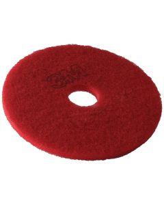 """3M Premium 15"""" Floor Pad Red"""