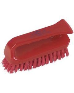 Hand Scrubbing Brush, Red