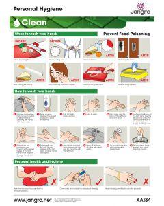 Personal Hygiene Wall Chart (A3)